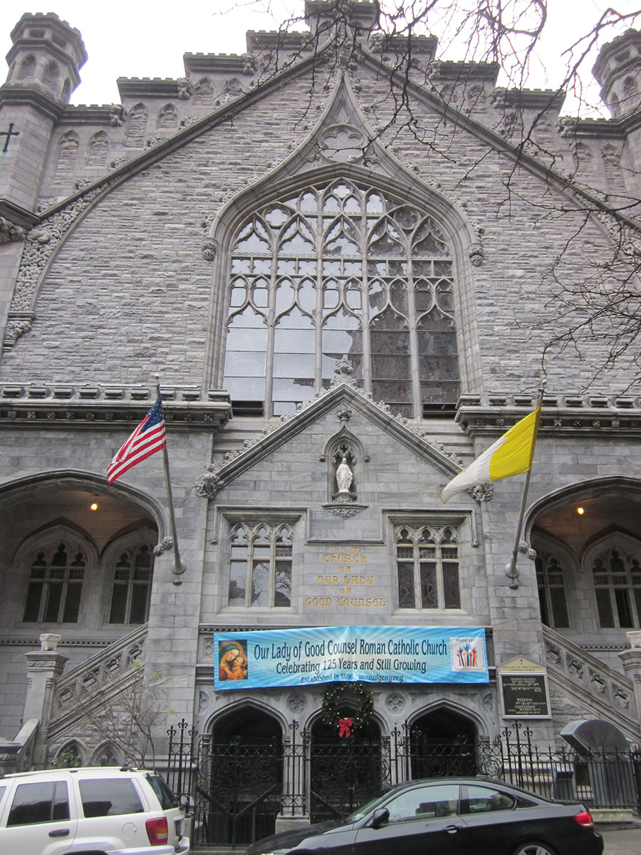 Our Lady Of Good Counsel Church Manhattan Ny Milan